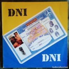 Discos de vinilo: DNI – SIMPLEMENTE DNI LP, 1990 HIP HOP INCL LETRAS. Lote 150478237