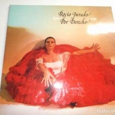 Discos de vinilo: ROCIO JURADO POR DERECHO, RCA 1979 2 LPS PORTADA DOBLE. Lote 148781554