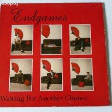 Disques de vinyle: ENDGAMES - WAITING FOR ANOTHER CHANCE - 1983. Lote 148785890
