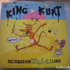 Discos de vinilo: KING KURT- DESTINATION ZULULAND ********** RARO MAXI ESPAÑOL 1983. Lote 148788022