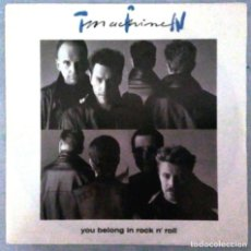 Discos de vinilo: TIN MACHINE (DAVID BOWIE) - YOU BELONG IN ROCK N' ROLL (1991) SINGLE ALEMANIA. Lote 148791062