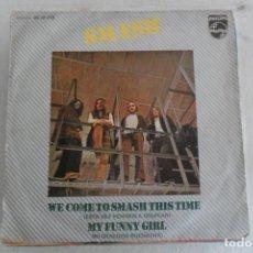 Discos de vinilo: SMASH - WE COME TO SMASH THIS TIME 1971. Lote 148797802