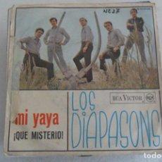 Discos de vinilo: LOS DIAPASONS - MI YAYA 1966. Lote 148800050