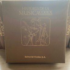 Discos de vinilo: COLECCIÓN 10 TOMOS HISTORIA MUSICA CODEX. Lote 148802104