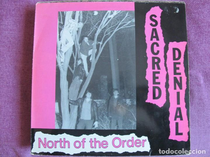 LP - SACRED DENIAL - NORTH OF THE ORDER (GERMANY, NUCLEAR BLAST RECORDS 1988) (Música - Discos - LP Vinilo - Punk - Hard Core)
