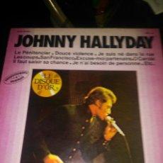 Discos de vinilo: JOHNNY HALLYDAY. Lote 148810286