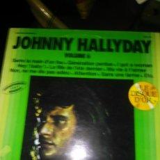 Discos de vinilo: JOHNNY HALLYDAY. Lote 148810602