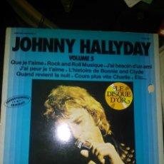 Discos de vinilo: JOHNNY HALLYDAY. Lote 148810890