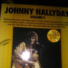 Discos de vinilo: JOHNNY HALLYDAY. Lote 148811374