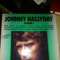 Discos de vinilo: JOHNNY HALLYDAY. Lote 148811906