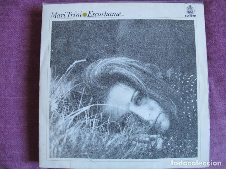 LP - MARI TRINI - ESCUCHAME (SPAIN, HISPAVOX 1971) (Música - Discos - LP Vinilo - Solistas Españoles de los 70 a la actualidad)