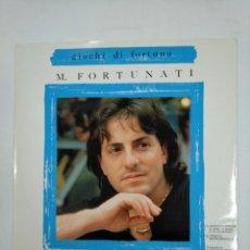 Discos de vinilo: MICHAEL FORTUNATI. - GIOCHI DI FORTUNA. MAXI SINGLE. TDKDA30. Lote 148821830