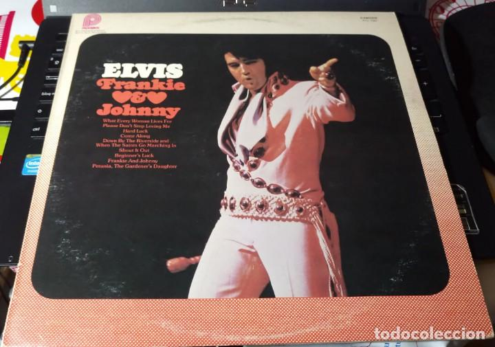Discos de vinilo: ELVIS PRESLEY - FRANKIE AND JOHNNY - LP 1975. CANADA. CAMDEN PICKWICK - Foto 2 - 148824678