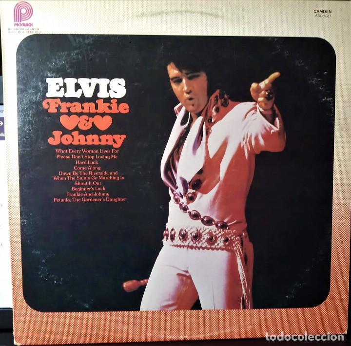 Discos de vinilo: ELVIS PRESLEY - FRANKIE AND JOHNNY - LP 1975. CANADA. CAMDEN PICKWICK - Foto 6 - 148824678