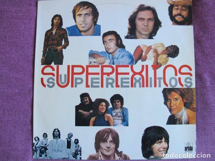 LP - SUPEREXITOS - VARIOS (VER FOTO ADJUNTA) (SPAIN, ARIOLA 1976) (Música - Discos - LP Vinilo - Solistas Españoles de los 70 a la actualidad)