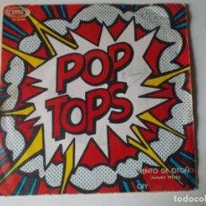 Discos de vinilo: POP-TOPS VIENTO DE OTOÑO SINGLE SPAIN 1967. Lote 148832726