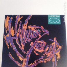 Discos de vinilo: EARTHWORKS HURRICANE ZOUK VARIOS ( 1988 VIRGIN UK ) A TROPICAL STORM COMPILATION. Lote 148853942