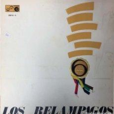 Discos de vinilo: LOS RELAMPAGOS - 6 PISTAS. Lote 148893410