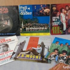 Discos de vinilo: DISCOS SINGLES MÚSICA POP. COLECCIÓN DE 6 DISCOS. AÑOS 60-70. Lote 148896694