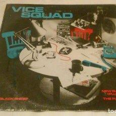 Discos de vinilo: VICE SQUAD (BLACK SHEEP + OTROS 2 TEMAS) MAXI SIGLE (TAMAÑO GRANDE) AÑOS 80. Lote 148903070