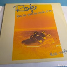 Discos de vinilo: DISCO ROJO YOU'VE GOT TO MOVE IT ON. Lote 148905061