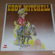 Discos de vinilo: BOX EDDY MITCHELL 3 LP FAN EDITION RCA RARO. Lote 148905414