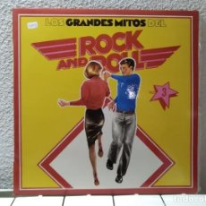 Discos de vinilo: LOS GRANDES DEL ROCK AND ROLL. Lote 148907970