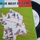 Discos de vinilo: SINGLE (VINILO)-PROMOCION- FRANCIA BEST SELLERS AÑOS 80. Lote 148914774