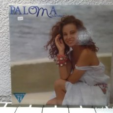 Discos de vinilo: PALOMA MEDITERRÁNEA . Lote 148914942