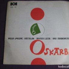 Discos de vinilo: OSKARBI EP HERRI GOGOA EDIGSA 1969 - PELLO JOXEPE/ KATALIN/ ASTEA LUZE +1 - FOLK VASCO EUSKADI. Lote 148918510