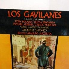 Discos de vinilo: BJS.DISCO DE VINILO.LP.LOS GAVILANES.COLUMBIA.. Lote 148928014