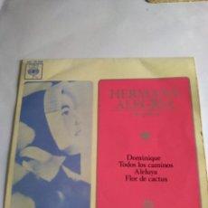 Discos de vinilo: DISCO PEQUEÑO HERMANA ALEGRÍA Y SUS COROS AÑO 1964. Lote 148930646