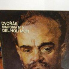 Discos de vinilo: BJS.DISCO DE VINILO.LP.J.DVORAK.SIMFONIA N9.CSP.. Lote 148930746