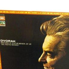 Discos de vinilo: BJS.DISCO DE VINILO.LP.J.DVORAK.SINFONIA N9.EMI.. Lote 148930870