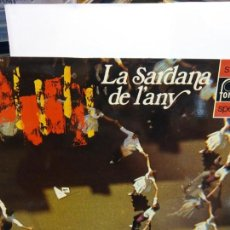 Discos de vinilo: BJS.DISCO DE VINILO.LP.LA SARDANA DE L´ANY.CAIXA D´ESTALVIS.STEREO.. Lote 148931326