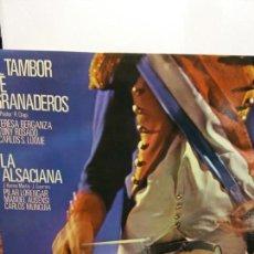 Discos de vinilo: BJS.DISCO DE VINILO.LP.EL TAMBOR DE GRANADEROS.COLUMBIA.. Lote 148931862