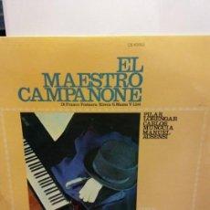 Discos de vinilo: BJS.DISCO DE VINILO.LP.EL MAESTRO CAMPANONE.COLUMBIA.. Lote 148932022