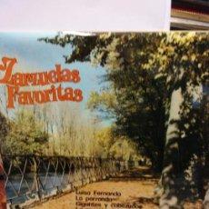 Discos de vinilo: BJS.DISCO DE VINILO.LP.ZARZUELAS FAVORITAS.BELTER.. Lote 148935986