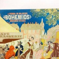 Discos de vinilo: BJS.DISCO DE VINILO.LP.AMADEO VIVES.BOHEMIOS.ALHAMBRA.. Lote 148936262