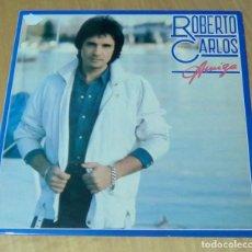 Discos de vinilo: ROBERTO CARLOS - AMIGA (LP 1983, CBS S 25429). Lote 148936962