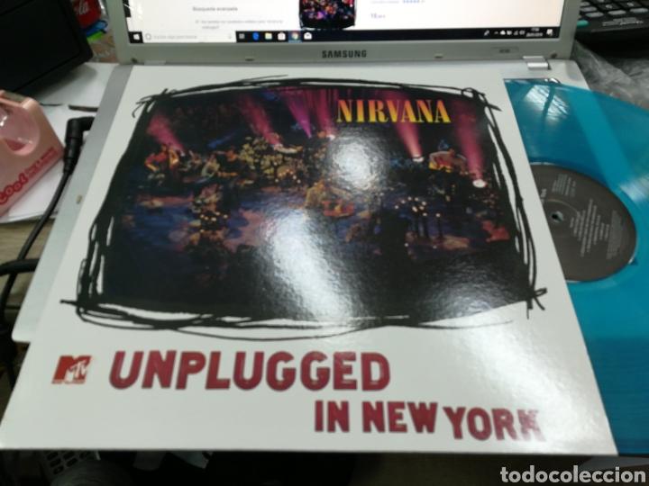 NIRVANA LP UNPLUGGED VINILO EN COLOR (Música - Discos - LP Vinilo - Pop - Rock Extranjero de los 90 a la actualidad)