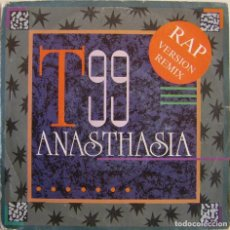 Discos de vinilo: T99-ANASTHASIA (RAP VERSION REMIX), WHO'S THAT BEAT?-WHOS R 50-7. Lote 148948026