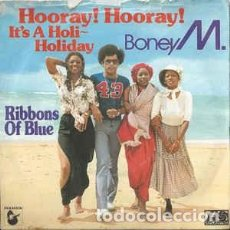 Discos de vinilo: BONEY M. ‎– HOORAY! HOORAY! IT'S A HOLI~HOLIDAY. Lote 148957766