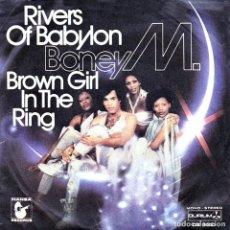 Discos de vinilo: BONEY M. – RIVERS OF BABILON. Lote 148958542