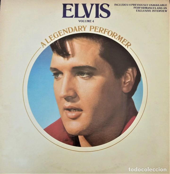 ELVIS PRESLEY - A LEGENDARY PERFORMER VOLUME 4 - LP - CPL1-4848 - USA 1983 (Música - Discos - LP Vinilo - Rock & Roll)