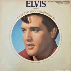 Discos de vinilo: ELVIS PRESLEY - A LEGENDARY PERFORMER VOLUME 4 - LP - CPL1-4848 - USA 1983. Lote 148963938