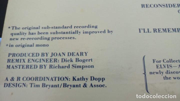 Discos de vinilo: ELVIS PRESLEY - A LEGENDARY PERFORMER VOLUME 4 - LP - CPL1-4848 - USA 1983 - Foto 7 - 148963938