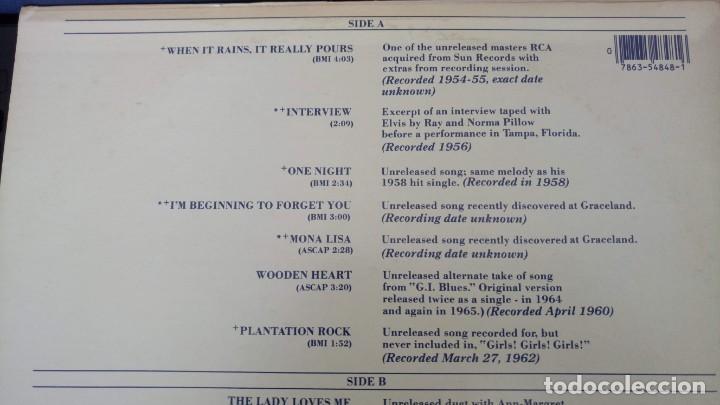 Discos de vinilo: ELVIS PRESLEY - A LEGENDARY PERFORMER VOLUME 4 - LP - CPL1-4848 - USA 1983 - Foto 9 - 148963938