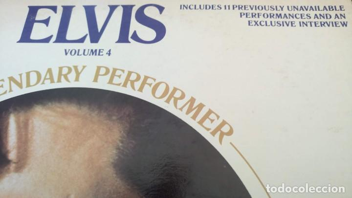 Discos de vinilo: ELVIS PRESLEY - A LEGENDARY PERFORMER VOLUME 4 - LP - CPL1-4848 - USA 1983 - Foto 10 - 148963938