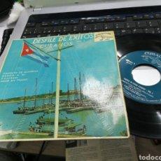 Discos de vinilo: DESFILE DE ÉXITOS CUBANOS VOL.1 EP ESPAÑA 1962. Lote 148965412